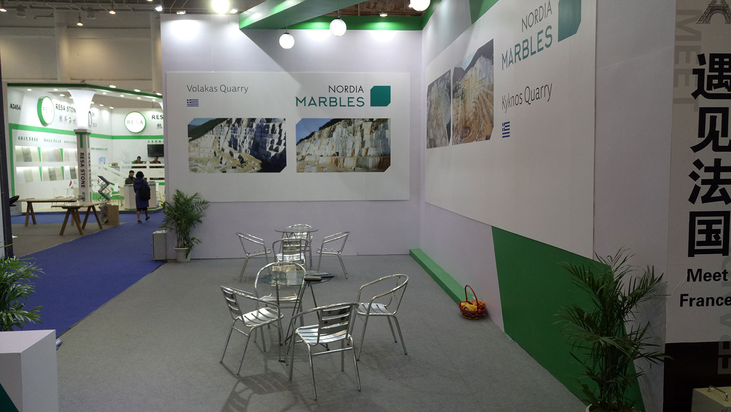 NORDIA MARBLES participated in the China Xiamen International Stone Fair 2018