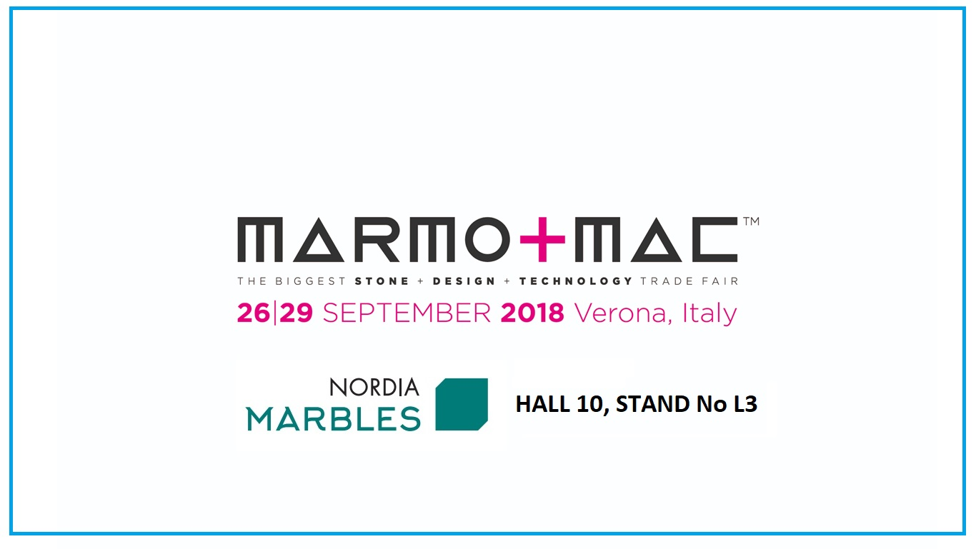 H Nordia Marbles στη Marmomac 2018 στη Βερόνα