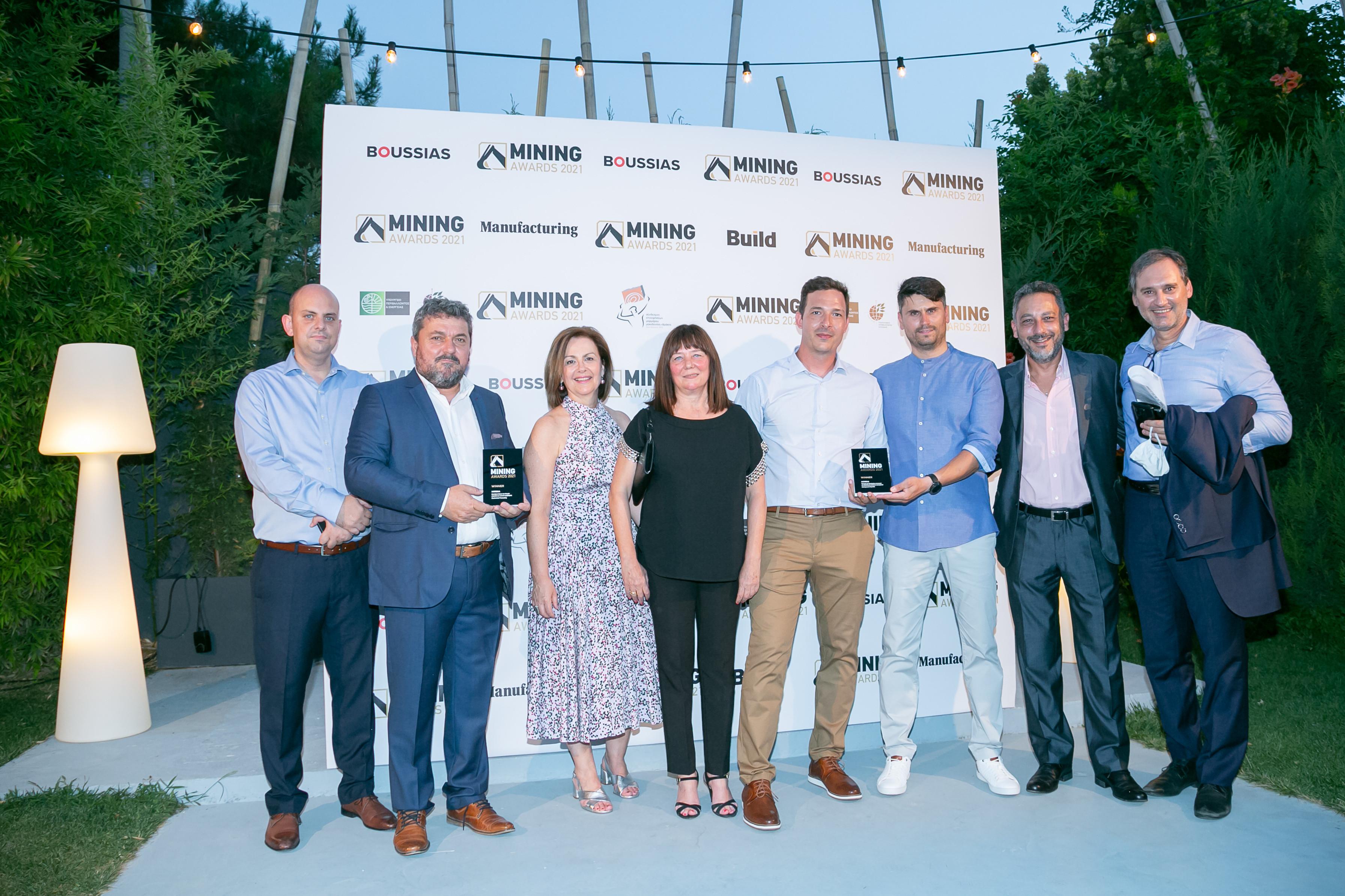 Mining Awards 2021. Nordia Marble.
