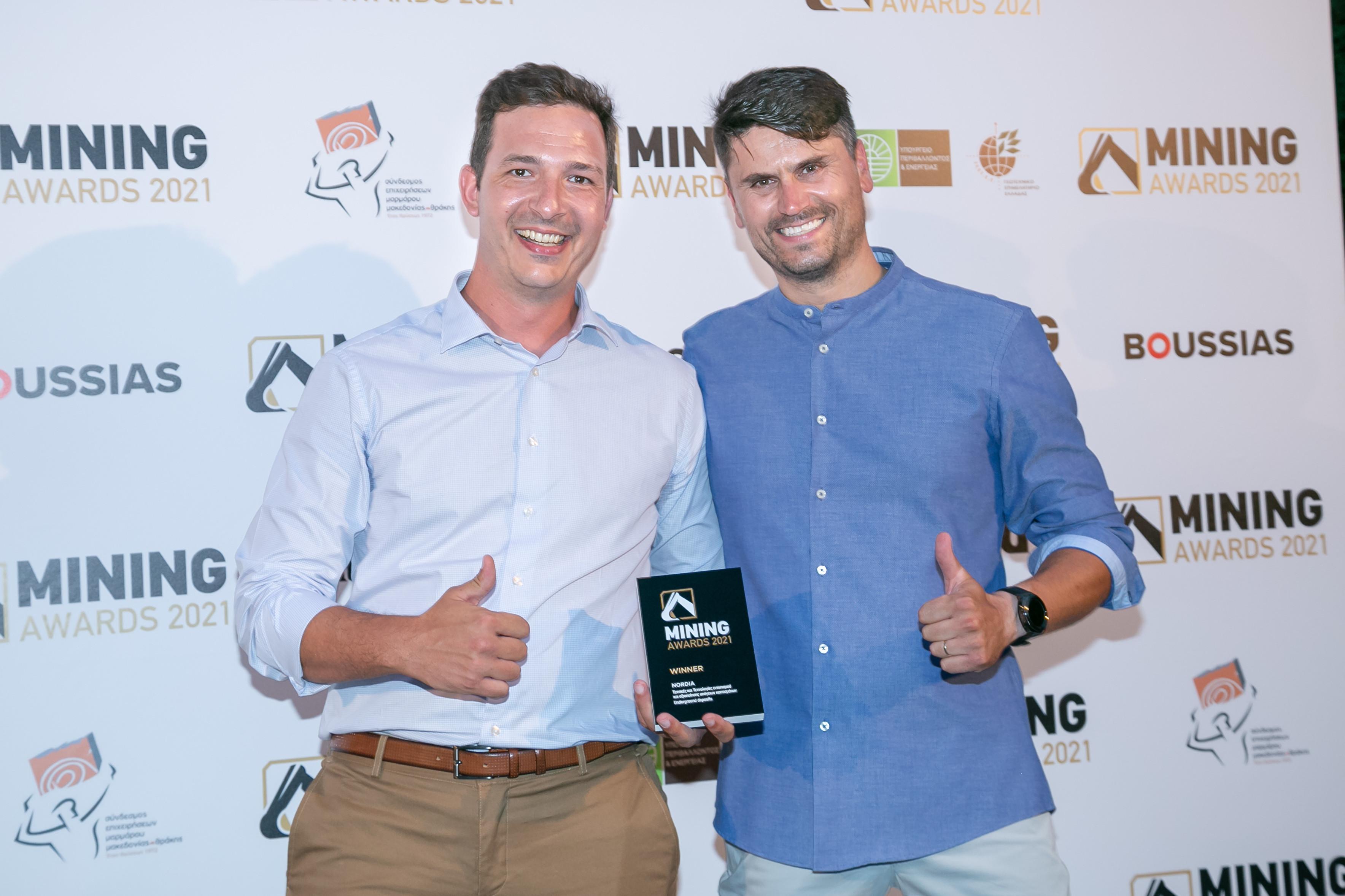 Nordia Marble. Βig winner of the Mining Awards 2021