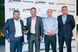 Mining Awards 2021. Nordia Marble. Νικητής των βραβείων