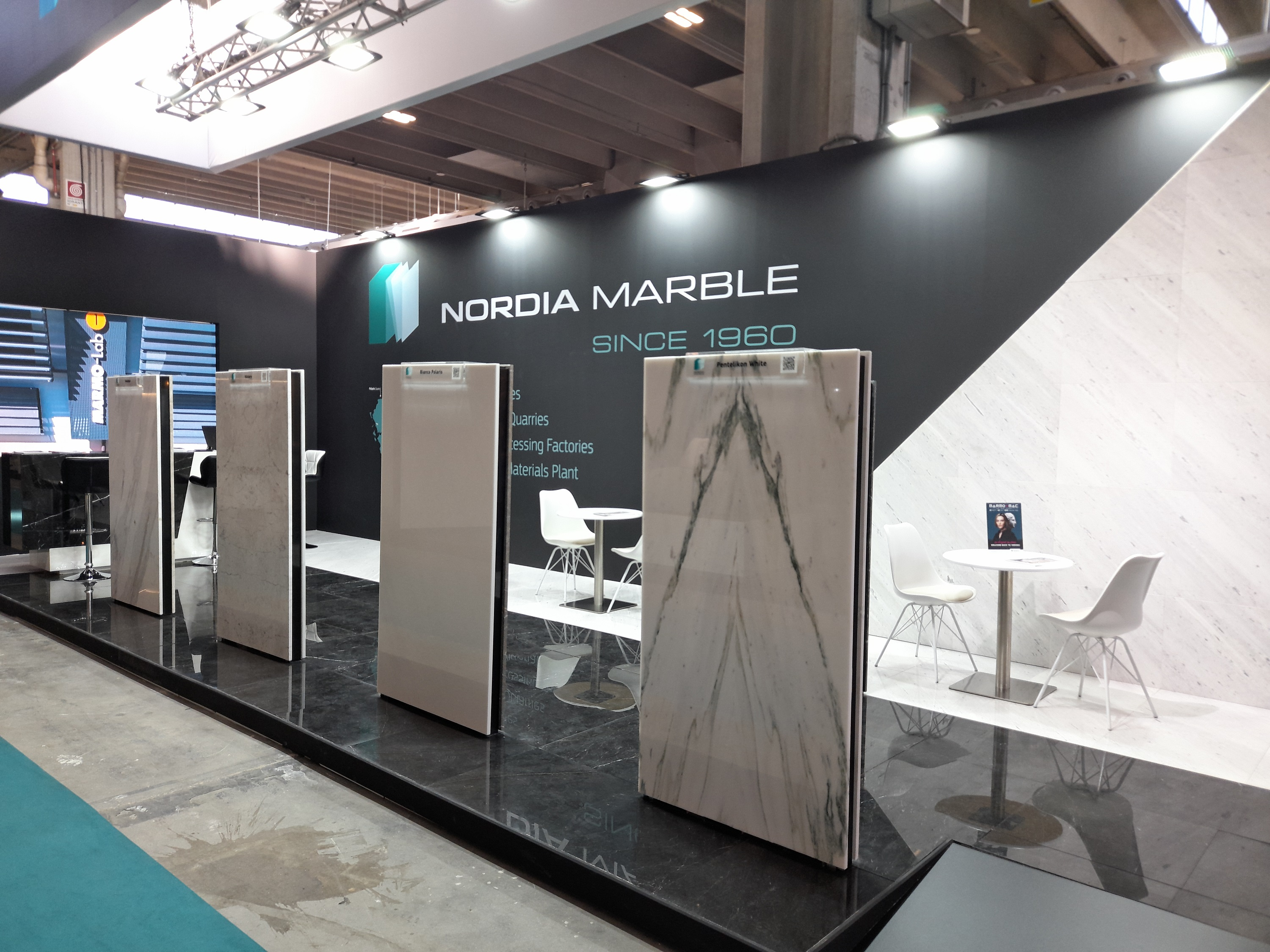 NORDIA Marble participated in Marmomac 2021