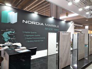 Nordia Marble in Marmomac 2021, Verona