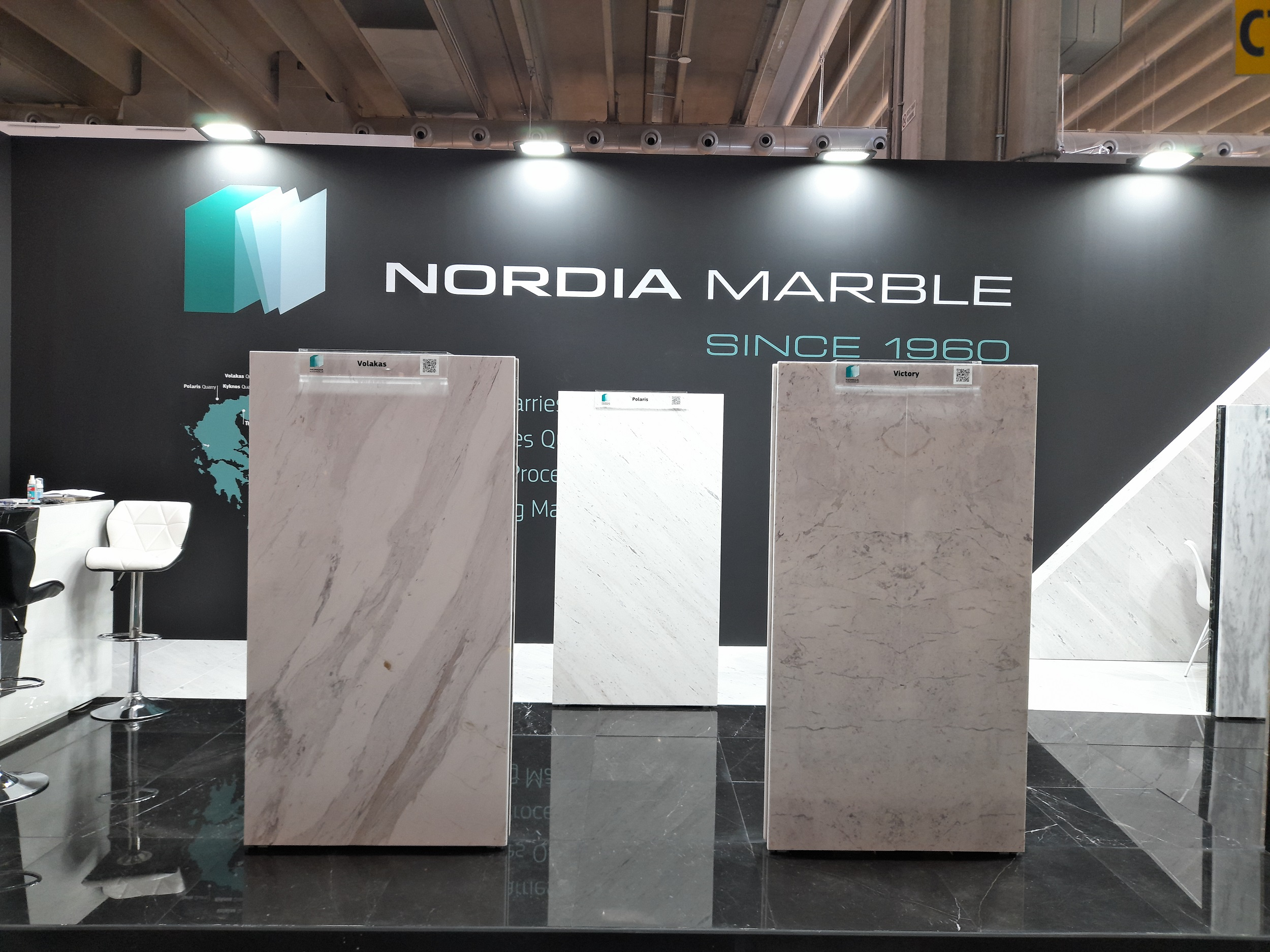 Nordia Marble in Marmomac 2021,  Italy